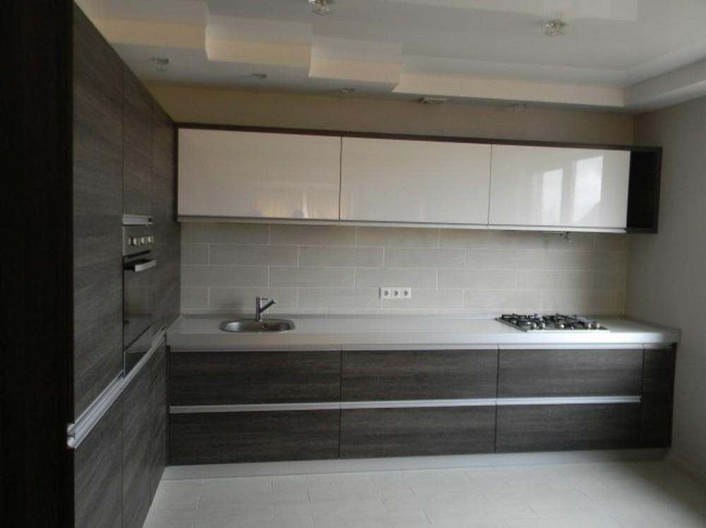 Акриловые кухни-Кухня из пластика «Модель 236»-фото2