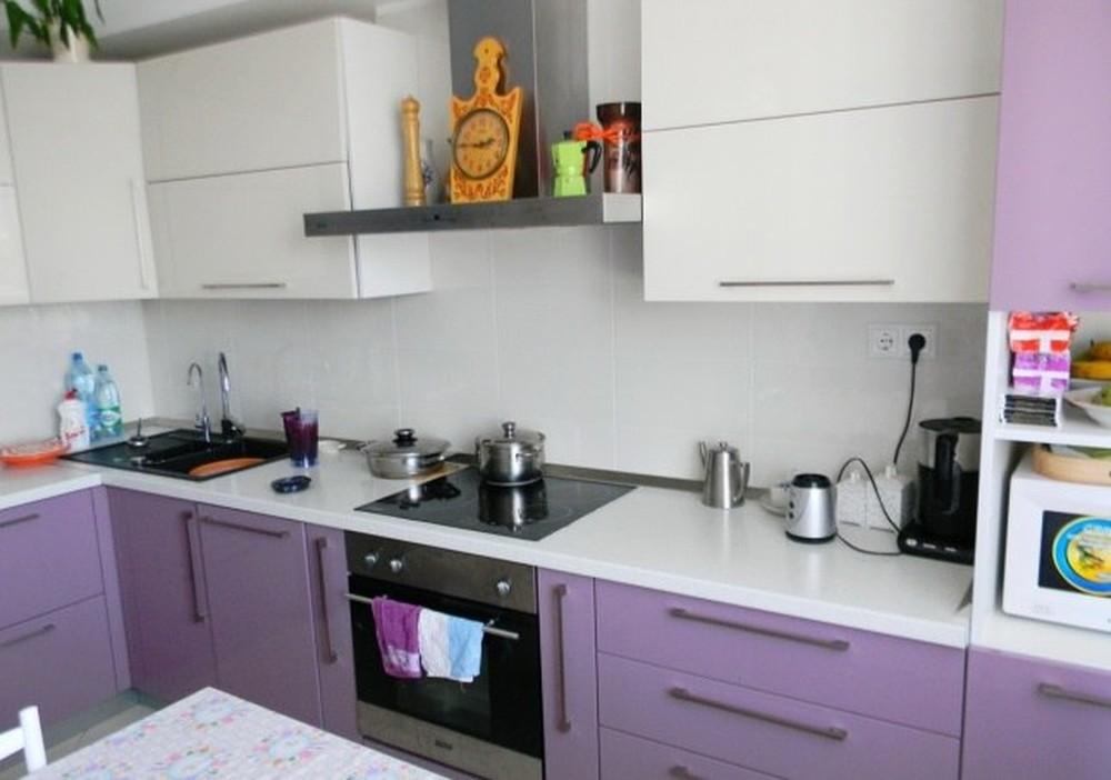 Встроенная кухня-Кухня МДФ в ПВХ «Модель 238»-фото2