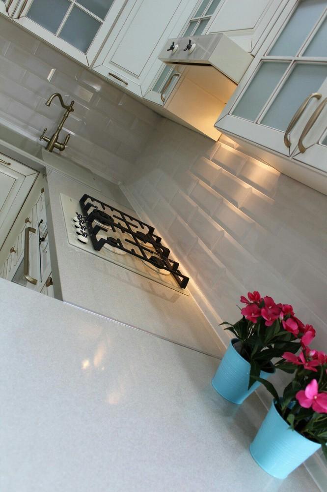 Встроенная кухня-Кухня МДФ в ПВХ «Модель 154»-фото7