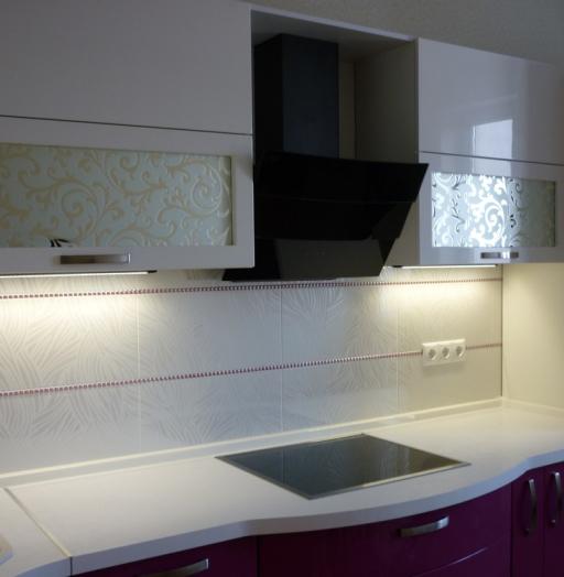 -Кухня МДФ в эмали «Модель 237»-фото3