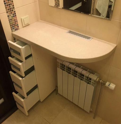 Мебель для ванной комнаты-Мебель для ванной «Модель 74»-фото5