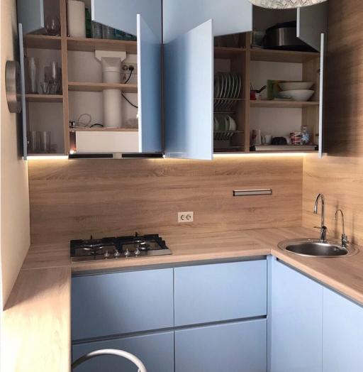-Кухня МДФ в ПВХ «Модель 37»-фото7