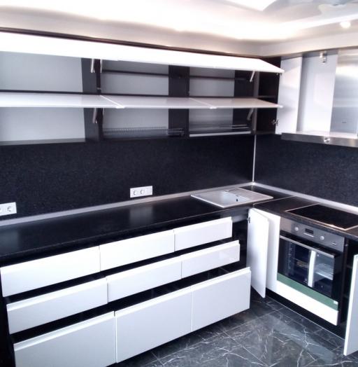-Кухня МДФ в эмали «Модель 430»-фото21