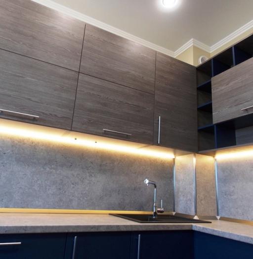 -Кухня МДФ в эмали «Модель 15»-фото7
