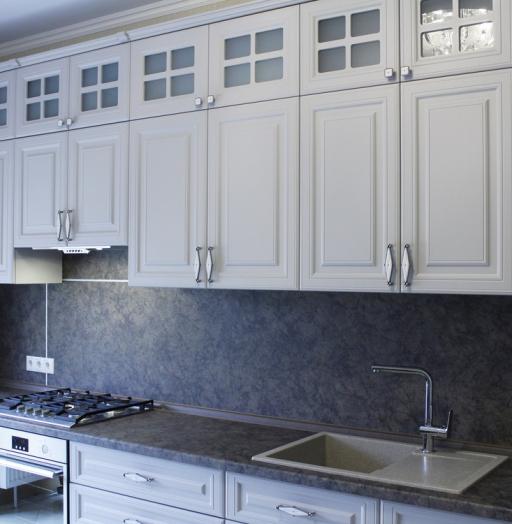 -Кухня МДФ в ПВХ «Модель 147»-фото4
