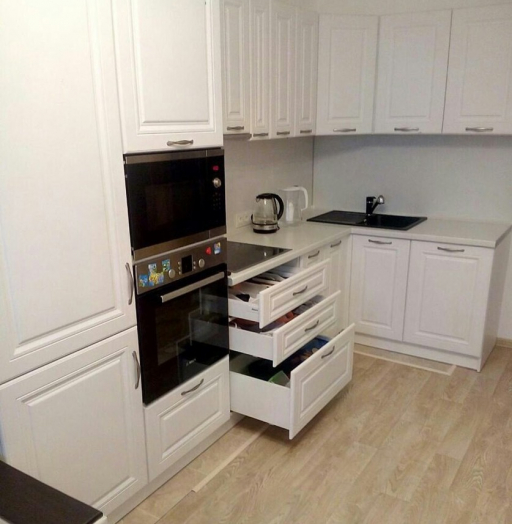 -Кухня МДФ в эмали «Модель 166»-фото19