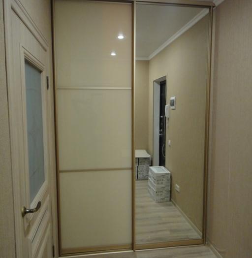Белые шкафы-купе-Шкаф-купе с зеркалом «Модель 176»-фото4