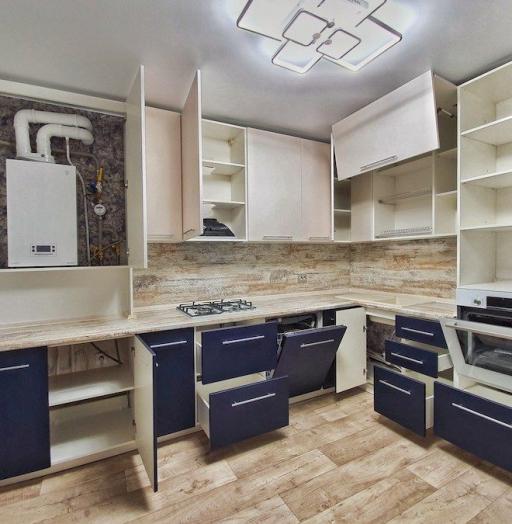 -Кухня МДФ в ПВХ «Модель 555»-фото12