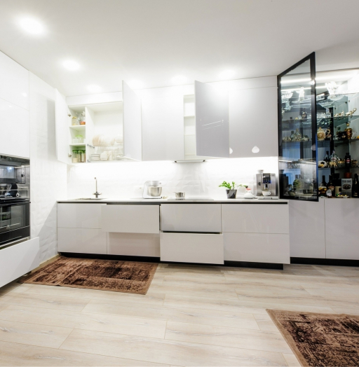 -Кухня МДФ в эмали «Модель 606»-фото30